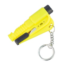 Emergency Mini Safety Hammer Auto Car Window Glass Breaker Seat Belt Cutter Rescue Hammer Car Life-saving Escape Tool