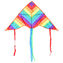 Rainbow Flying Kite Outdoor Sport Children Gift Outdoor Game Best First Kite For Education Children Flying Kite Toy for Children