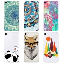 Silicone Cases Meizu U10 Cover Case Transparent TPU Soft Phone U 10 Colorful Printing Back Fundas - GL Accessories Store store