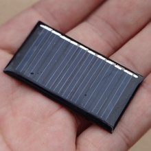 Wholesale 5V 25mA Mini Solar Cell Small Power Solar Panel For 3.6V Battery Charger DIY Solar Toy Panel LED 1000pcs/lot 45X25mm
