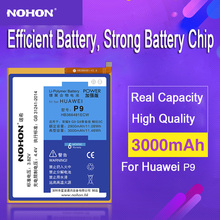 100% Original NOHON Battery For Huawei Ascend P9 G9 P 9 Lite Honor 8 5C 3000mAh Mobile Phone Replace Rechargeable Accumulator