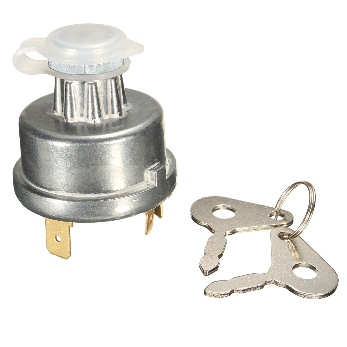 KSTE Reemplazo del Interruptor de Encendido y Bloqueo Keysfor Massey Ferguson 3699692M92