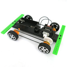 2017 # 1 Set Mini Powered Toy DIY Car Kit Children Educational Gadget Hobby Funny(China)