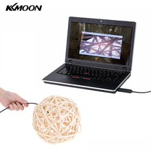 KKmoon Mini 2M 7mm Endoscope Camera Inspection Pipe Endoscope USB Camera with 6 LEDs Adjustable Brightness For PC