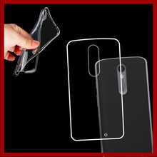 0.6mm Thin Crystal Clear Transparent Soft TPU for Moto X force Protective Back Case Cover for MOTO Droid Turbo 2 (5.4 inches)