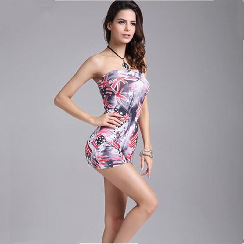 singapore girls strapless mini dress