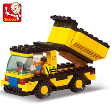 High QUALITY Original City Construction  Dump Truck Building Blocks Bricks Toys Brinquedos Forge World Compatible with LE city