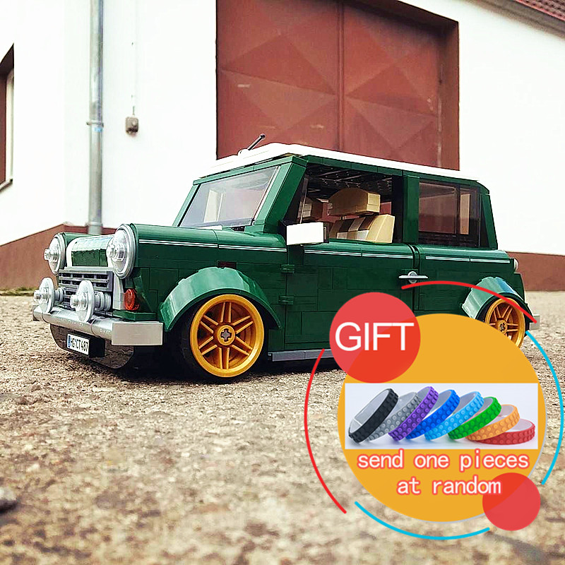 21002 1077Pcs Technical series MINI Cooper Model Building Kit Blocks Compatible With 10242 toy lepin<br>