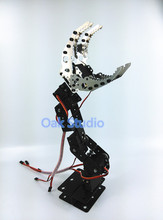 6 DOF robot arm,High torque Metal gear servo,mechanical Claw CL-6 ,For Robotic hand,DIY,Study project,programming