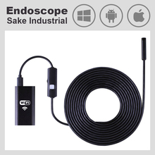Wi-Fi Endoscope Android iOS Phone PC Waterproof Snake Industrial Wireless Car WiFi Endoscope iPhone Camera HD Video Borescope(China)