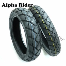 Motorcycle Front & Rear Rubber Tires Anti-Skidding Tubeless Vacuum Tyres for BMW F650GS F650 GS R1200GS Jialing 600(China)