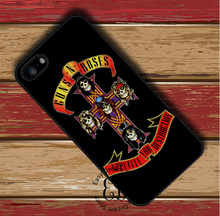 Guns N Roses Logo Cross case for iphone X 4s 5 5s SE 5c 6 6s 7 8 Plus Samsung s3 s4 s5 mini s6 s7 s8 edge plus Note 3 4 8