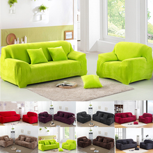 Microfiber Sofa Protector Cover Anti-Slip Case Pet Dog Kid Furniture Protector Good Sofa Slipcovers 14 Colors Couch Cover