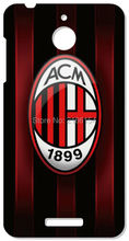 Retail AC Milan Cell Phone Cover For HTC one X M7 M8 M9 For Samsung Galaxy E5 E7 S3 S4 S5 Mini S6 S7 Edge Plus Note 3 4 5 Case(China)