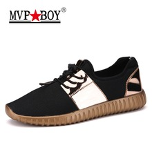 Buy MVP BOY Brand 2018 New Summer Breathable Shoes Men Flat shoes Autumn Fashion Men Shoes Couple Casual Shoes Plus size 36-45 for $14.97 in AliExpress store