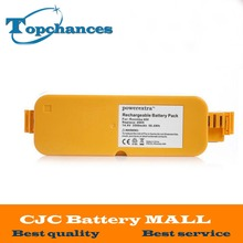 Hot 3500mAh 3.5Ah NI-MH High quality Vacuum Battery For iRobot Roomba 400 / 4000 / Create/ APC / Discovery / Dirt Dog Battery