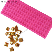 Lace gem diamonds Fondant chocolate silicone mold cake decorating tools Polymer Clay Resin Candy Fimo Super Sculpey T-0876