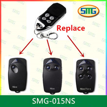 free shipping 433.92MHZ copy code NICE FLORS RF gate remote control activities discount 5pcs(China)