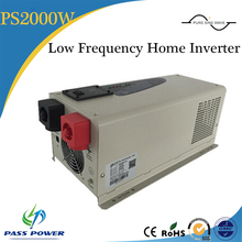 Low frequency pure sine 12v 2000w home power inverter, battery inverter with charger