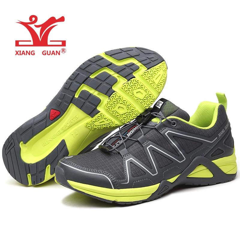 XIANG GUAN Man Running Shoes For Men Run Nice Athletic Trainers Dark Gray Green Sport Shoe Light Outdoor Walking Sneakers 3<br>