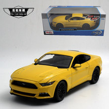 MAISTO 1/18 Scale USA 2015 Ford Mustang Diecast Metal Car Model Toy New In Box For Collection/Gift/Kids/Decoration