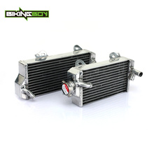 BIKINGBOY Aluminium Core MX Offroad Engine Radiators Water Cooler Cooling for SUZUKI RMZ450 RMZ 450 2011-2017 2012 2013 14 15 16(China)