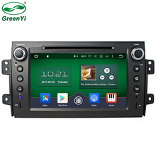 GreenYi 32GB Rom Octa Core Android 6.0 Fit SUZUKI SX4 2006-2012 Car DVD Player Headunit GPS Navigation TV 4G WiFi RDS Radio
