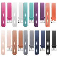 Soft Comfortable Silicon Sports Watch Band Wrist Strap Metal Buckle Belt Bracelet High Quality Watchbands(China)