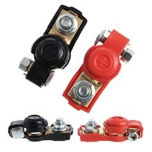 1 Pair Alloy Positive Nagative Car Battery Terminal Clamp Clips Connector New(China)