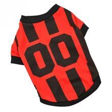 World Cup Soccer Jersey For Dog Cool Spring Summer Breathable Dogs Vests Puppy Outdoor Sportswear Football Clothes(China)