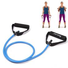 resistance exercise band tubes stretch yoga fitness workout pilates blue for wholesale and free shipping kylin sport(China)