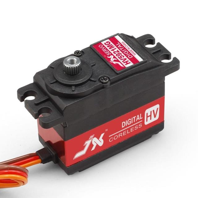 Jx pdi-hv5921mg 20kg large high pressure digital hollow cup steering gear server <br>
