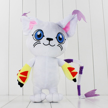 "18"" 45cm 1Pcs Kawaii Digimon Tailmon Cat Plush Toys Cute Anime Soft Stuffed Dolls Birthday Gifts For Kids"