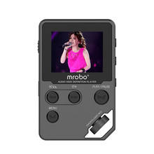 2016 Brand New Mrobo C5 8G High Definition HiFi Lossless Audio Music Player Portable Mini Sport MP3 Player Support Recording