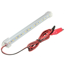 23.5cm 12V SMD 5630 Clear LED Bar Light Car Interior Light Tube LED Strip Lamp Van Boat Caravan Motorhome Truck