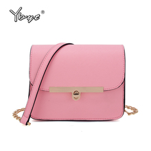 YBYT brand 2017 new style casual mini women bag fresh girl satchel ladies shopping pack female shoulder messenger crossbody bags