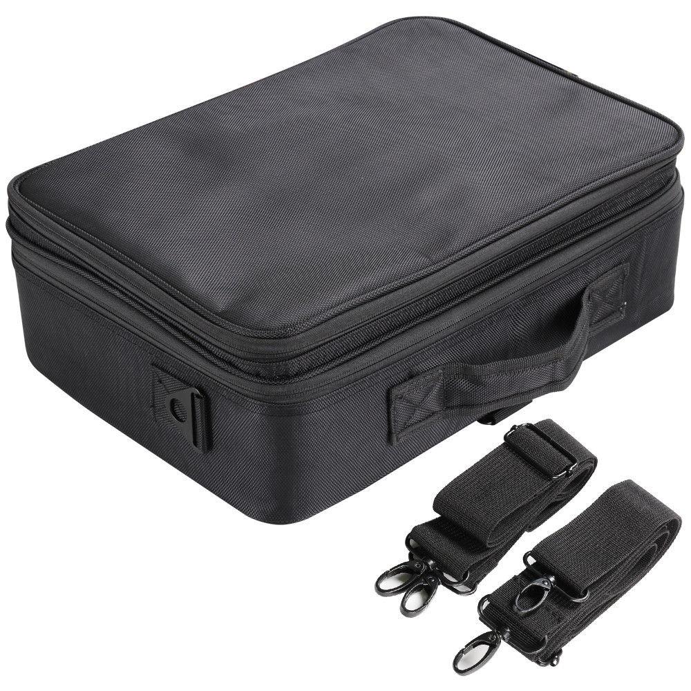 Women Makeup Bag High Quality Professional Organizer Makeup Brush Bag Case Cosmetic Bag Large Capacity Storage Bag Art Tool Box (5)