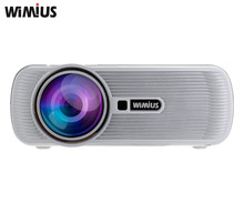 Wimius LED Projector Full HD 1080P 1200 Lumens Home Cinema Theater Beamer Proyector Video Projetor Dustproof For XBOX TV