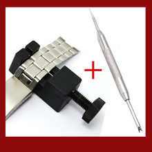 Watch Link for Band Slit Strap Bracelet Chain Pin Remover Adjuster Repair Tool  with Watch Repair Tool  Stainless Steel