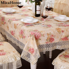 Rustic dining table cloth fabric chair covers set table runner coffee tablecloth towel cover