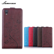 Leather Case For Lenovo P70 Flip Cover Case For Lenovo P70 P70T P 70 P70-T Phone Cover Embossing Mobile Phone Bags & Cases(China)