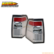 For 2007-2010 Ford Expedition LED Tail Lights All Chrome 08 09 USA Domestic Free Shipping
