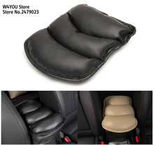 Car Center Armrests Cover Protective Pad for Hyundai  Solaris i20 ix25 i30 ix35 i40 SantaFe HB20 HB20S