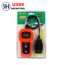 2017 New Car Styling U380 OBD2 Diagnostic Tool Scanner Accurate Code Reader For Toyota Honda Nissan high quality Free Shipping