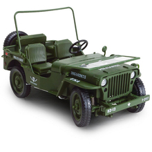 KDW WWII 1/18 Scale Classic Military Army Tactical Jeep Diecast Vehicle Models Green Toys Collections Pull Back