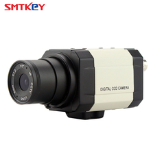 Small Mini 960H 700TVL SONY CCD Box Camera Indoor Color Home Security CCTV Camera by SMTKEY