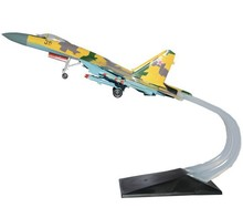 1:72 Diecast Model Plane Su35 Jet  Fighter Free Shipping