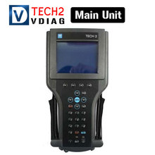 The main unit of Scanner for GM TECH2 scanner support 6 software diagnostic tool for gm tech 2 with Free shipping