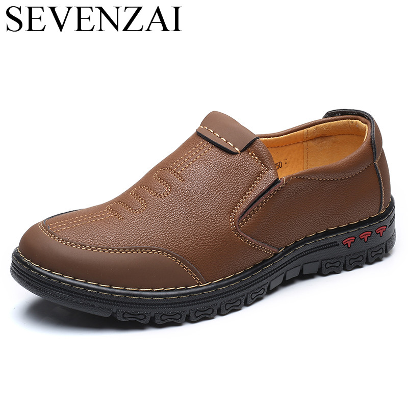 men unique cool casual leather loafers shoes luxury brand luxury male italian comfortable leisure footwear safety shoes for men<br>