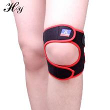 Quality Practical High Sports kneepad Black With Red Outdoor Travel Adjustable Knee Pad Protector Outdoor Breathable Knee Pads(China)